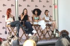 Zoe Silverman (Musician, ASTR), Jasmine Solano (Host, VJ, DJ), Kitty Cash (DJ), and Chelsea Leyland (DJ).