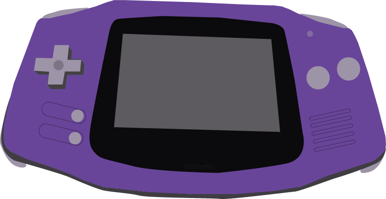 An Illustration of a Game Boy Advance